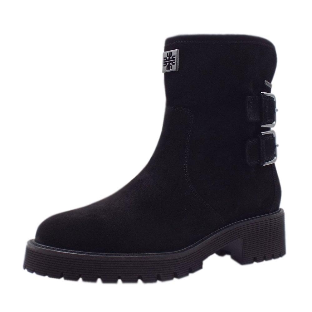 reputable site 8feb4 9655e Högl 6-10 2422 0100 Moto Gore-Tex Boots in Black