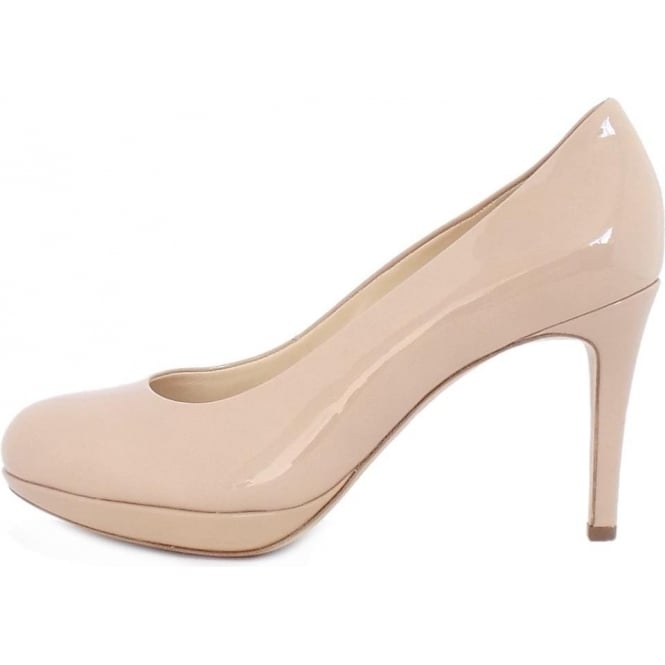 2019 best affordable price quality Högl Alpraham Women's Classic High Heel Court Shoes in Nude Patent