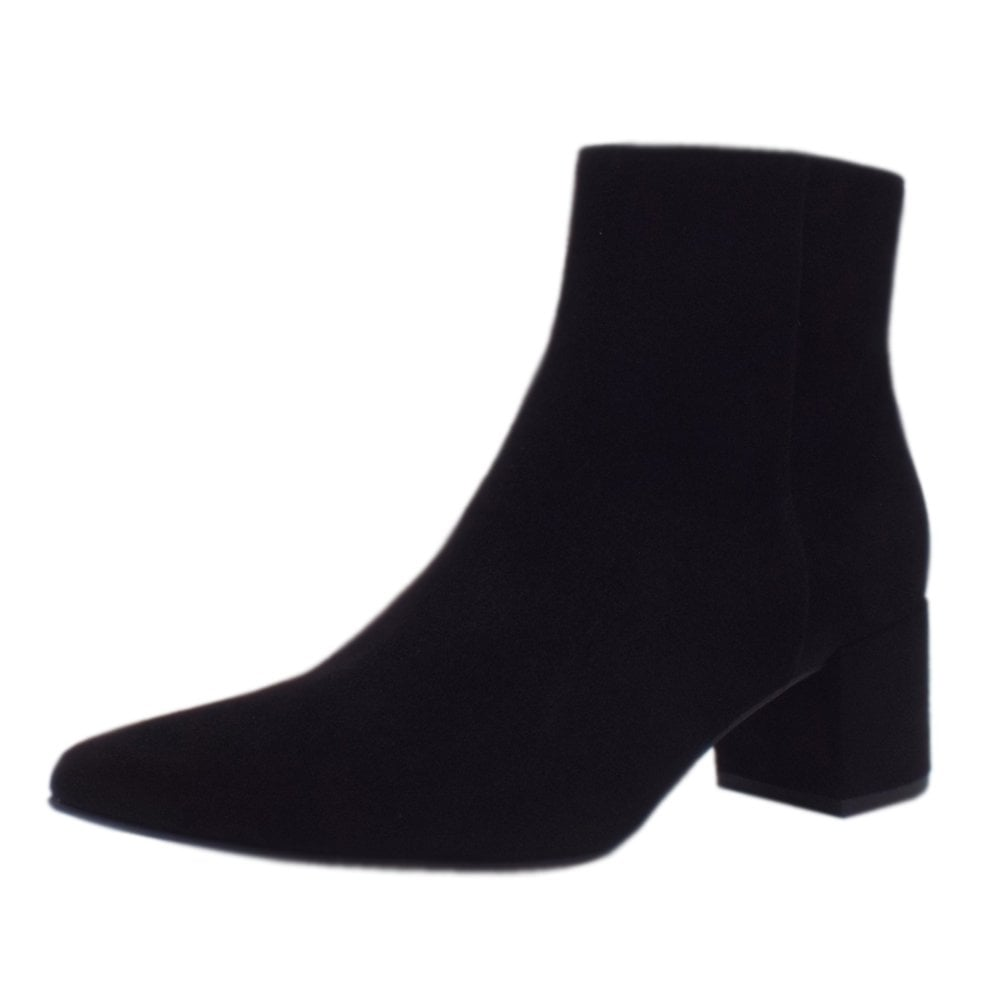 18a962a2b6f819 Publicity 6-10 4912 0100 | Ladies Stylish Boots Black Suede | Hogl UK