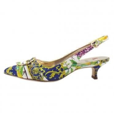 1a5847441 7-10 4738 Positano Stylish Kitten Heel Shoes in Multi Amalfi